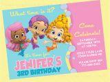 Bubble Guppies Birthday Invitations Template Birthday Invitation Templates Bubble Guppies Birthday