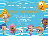 Bubble Guppies Birthday Invitations Template Bubble Guppies Birthday Invitations Bubble Guppies