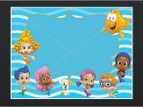 Bubble Guppies Birthday Invitations Template Bubble Guppies Invitation Template with An Elegant Design
