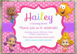 Bubble Guppies Birthday Invitations Template Best 25
