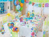 Bubble Guppy Birthday Decorations Bubble Guppies Party Table Idea Party City