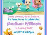 Bubble Guppy Birthday Invitations Bubble Guppies Birthday Invitations Style 2 Ebay