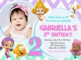 Bubble Guppy Birthday Invitations Bubble Guppies Birthday Party Invitation Digital File