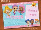 Bubble Guppy Birthday Invitations Unique Ideas for Bubble Guppies Birthday Invitations