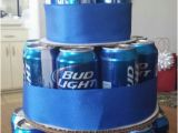 Bud Light Birthday Party Decorations Bud Light Cake so Simple Christmas Gift for the Beer