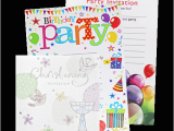 Bulk Birthday Invitations wholesale Party Invitations Harrisons Direct
