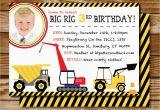 Bulldozer Birthday Invitations Bulldozer Birthday Invitations Invitation Librarry