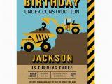 Bulldozer Birthday Invitations Dump Truck Birthday Invitation Bulldozer Party Invitations