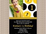 Bumble Bee 1st Birthday Invitations 1000 Images About Aria 39 S 1st Birthday Bee theme On