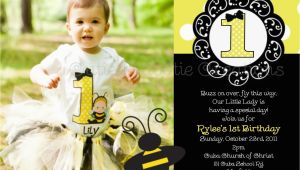 Bumblebee Birthday Invitations Bumble Bee Birthday Party Invitations Bumble Bee by