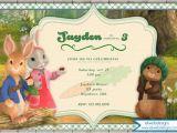 Bunny Birthday Invitation Template Nick Jr 39 S Peter Rabbit Birthday Invitation Peter Rabbit