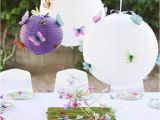Butterfly Birthday theme Decorations butterfly Party Elle is 3 Chickabug
