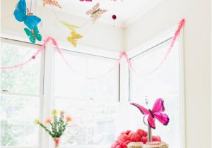 Butterfly Themed Birthday Party Decorations Favors Ideas