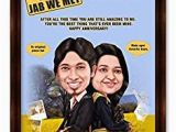 Buy Birthday Gifts for Husband Online India Buy Jab We Met Bollywood theme Caricature Gift for Couple
