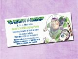Buzz Lightyear Birthday Invitations Buzz Lightyear Birthday Invitation by Freshinkstationery