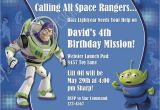 Buzz Lightyear Birthday Invitations Buzz Lightyear Birthday Invitation toy Story Invitation Photo