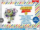 Buzz Lightyear Birthday Invitations Buzz Lightyear toy Story Birthday Invitation 1 by
