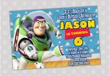 Buzz Lightyear Birthday Invitations Items Similar to Buzz Lightyear Birthday Party Invitation
