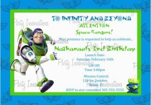 Buzz Lightyear Birthday Invitations Unavailable Listing On Etsy