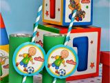 Caillou Birthday Decorations Greygrey Designs My Parties Caillou Party and Giveaway