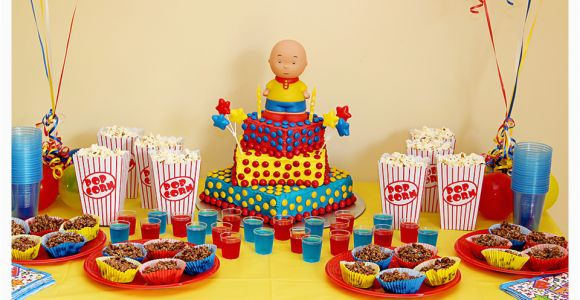 Caillou Birthday Decorations Photography by Michelle William 39 S Caillou Party