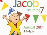 Caillou Birthday Invitations 44 Best Caillou Party Images On Pinterest 3 Years 3rd