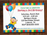 Caillou Birthday Invitations Caillou Birthday Invitation Caillou Birthday Party Ideas