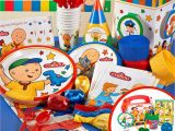 Caillou Birthday Party Decorations Caillou Birthday Party Supplies Caillou Birthday Party