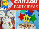 Caillou Birthday Party Decorations Caillou Birthday Quot Caillou Birthday Party Quot Caillou