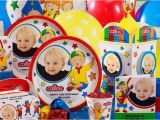 Caillou Birthday Party Decorations Caillou Personalized Party Supplies Kids Party Supplies