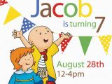 Caillou Birthday Party Invitations 244 Best Images About Caillou On Pinterest Perler Bead