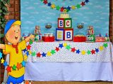 Caillou Party Decorations Birthday Greygrey Designs My Parties Caillou Party and Giveaway