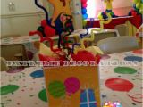 Caillou Party Decorations Birthday Party Decorations Miami Balloon Sculptures