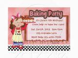Cake Decorating Birthday Party Invitations 17 Best Images About Birthday Ideas On Pinterest Girl