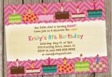 Cake Decorating Birthday Party Invitations Cake Decorating Birthday Party Invitation Digital Printable or