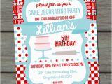 Cake Decorating Birthday Party Invitations Pinterest the World S Catalog Of Ideas