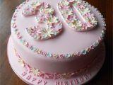 Cake Decorating Ideas for 30th Birthday Flowery 30th Birthday Cake