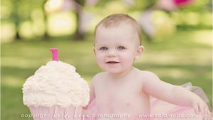 Cake Smash Ideas for 1st Birthday Girl Baby K Turns 1 Year Old Rhode island First Birthday Cake