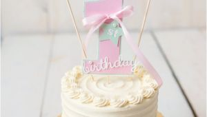 Cake toppers 1st Birthday Girl First Birthday Decorations First Birthday Cake topper Smash
