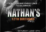 Call Of Duty Birthday Invitations 457 Best Images About Pat Party Ideas On Pinterest Black