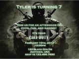 Call Of Duty Birthday Invitations Call Of Duty Ghosts Birthday Invitations Party