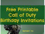 Call Of Duty Birthday Invitations Free Printable Call Of Duty Birthday Invitations