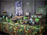 Call Of Duty Birthday Party Decorations Call Of Duty Military Birthday Party Ideas Photo 2 Of 11