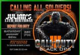 Call Of Duty Birthday Party Invitations 37 Best Dom 39 S Birthday Party Images On Pinterest