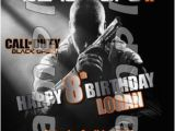 Call Of Duty Birthday Party Invitations 8 Best Call Of Duty Black Ops 2 Birthday Party Images