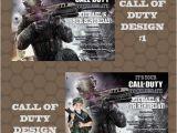 Call Of Duty Birthday Party Invitations Call Of Duty Video Game Birthday Party Invitations by