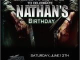 Call Of Duty Birthday Party Invitations Prit Black Pos 2 Cmartistry Call Of Duty Black