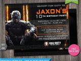 Call Of Duty Black Ops Birthday Invitations 16 Best Images About Black Ops 3 On Pinterest Fred