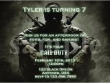 Call Of Duty Black Ops Birthday Invitations Etsy Your Place to Buy and Sell All Things Handmade