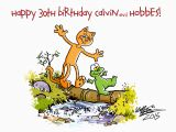 Calvin and Hobbes Happy Birthday Quotes Hobbes Cartoonivore Com